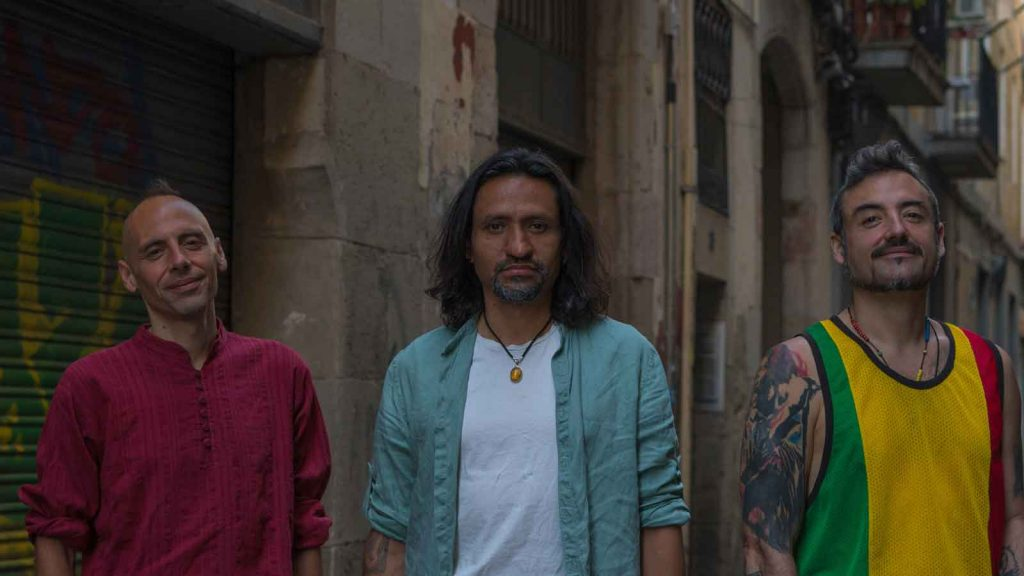 che sudaka in a promotional image in Barcelona